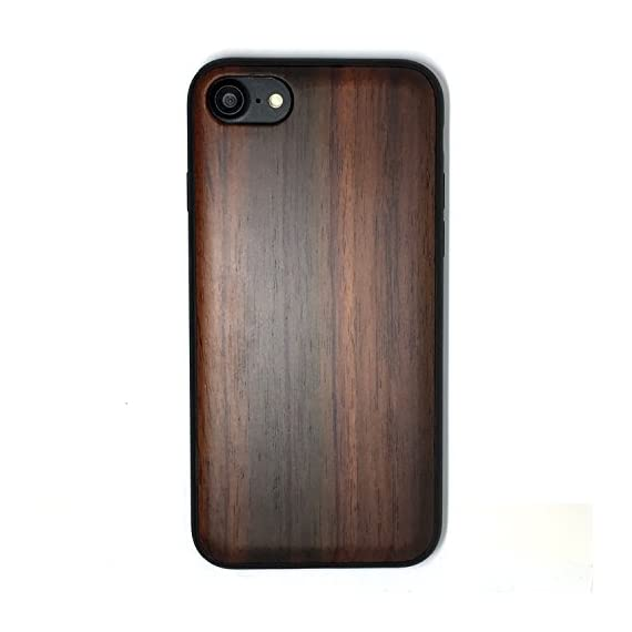 iPhone 7/iPhone 8 Case, iPhone 7 Wood case, BTHEONE Natural Genuine Wooden Case for iPhone 7 ?Real Wood Ultra Slim Hard… 1 √ Compatible with iPhone 7 (Not for iPhone7 Plus) √ Naturally wood different,each wood back has a unique grain and texture. √ Specially designed for iPhone 7, has precise design for speakers, charging ports, audio ports and buttons.