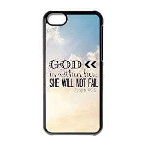 Cool Painting Bible Verse Brand New Cover Case for Iphone 5C,diy case cover case620410