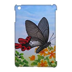 Butterfly Personalized 3D Case for Ipad Mini, 3D Customized Butterfly Case