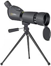 National Geographic Spectief 20x60x60 met tafelstatief, handgeleiding, 360 graden draaibare buis, traploze vergroting en uittrekbare beschermkap, zwart