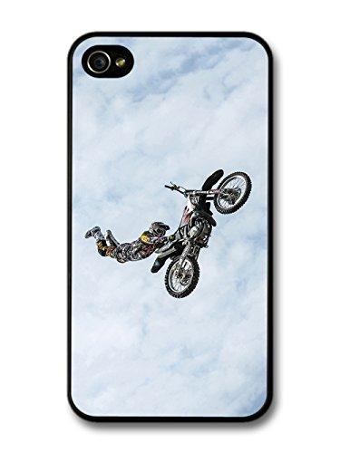 Moto Cross Motor Biker Bike Trick Jump case for iPhone 4 4S