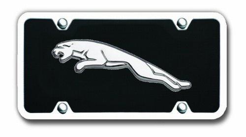 MrZAccessories Jaguar Logo Front License Plate by MrZAccessories