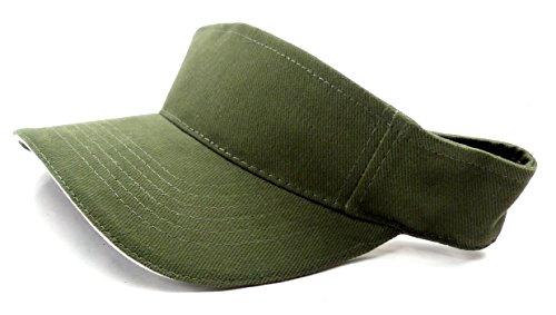 Cap 4488deportivo Tenis Muetze Green superior abierto con velcro verde oliva