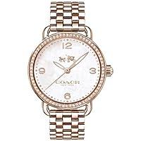 Relógio Coach Feminino Aço Rosé - 14502483