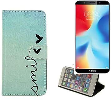 K-S-Trade 360° Funda Smartphone para TP-Link Neffos C9A, Smile ...