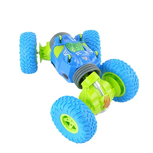 - Fullfun 2.4Ghz 4WD Remote Control 1/12 Scale Electric Crawl Off Road Truck High Speed Racing Twist Climbing RC Vehicle Truck (Blue)