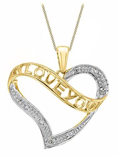 Carissima-Gold-Damen-Halskette-mit-Anhnger-9-Karat-375-Gelbgold-46cm