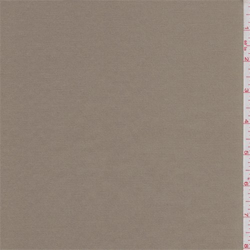 Tawny Brown Stretch Sateen, Fabric By the Yard (Tawny Apparel)
