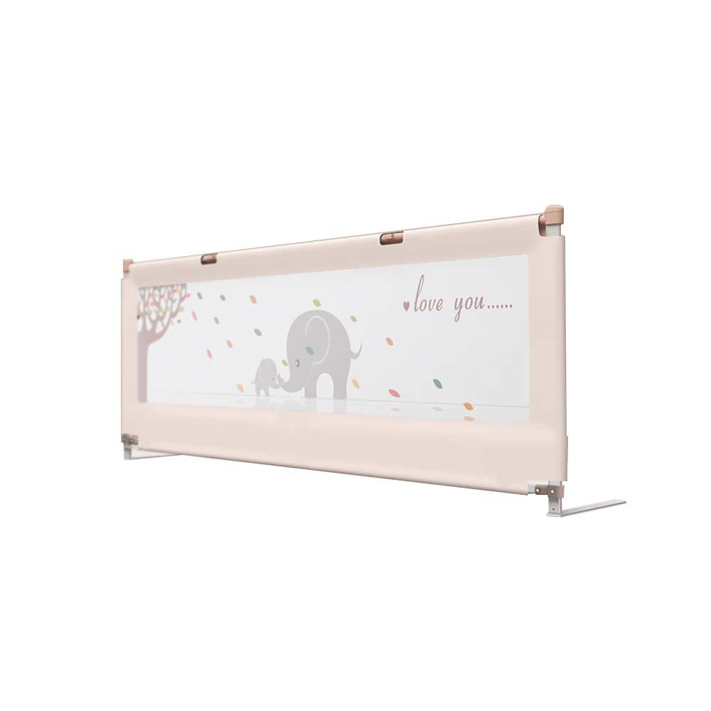 HUO 寝具バー - ベビーネットリングバー - 折り畳み式セキュリティ - 子供用クイーンベッドレール 省スペース (色 : ベージュ, サイズ さいず : 180cm) 180cm ベージュ B07GGV6RGG