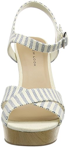 New Look Pod 2 - Zapatos Mujer Azul - Blue (49/Blue Pattern)