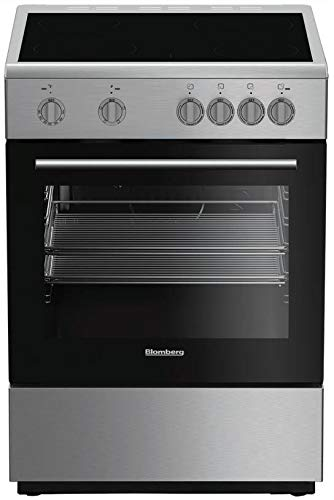 Blomberg BERU24202SS 24'' Electric Range with 4 Elements 2.4 cu. ft. Oven Capacity Storage Drawer Easy Clean Enamel Finish Residual Heat Indicators in Stainless by Blomberg (Image #2)
