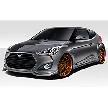 Duraflex ED-AYU-369 N Design Body Kit - 4 Piece Body Kit - Fits Hyundai Veloster 2012-2015