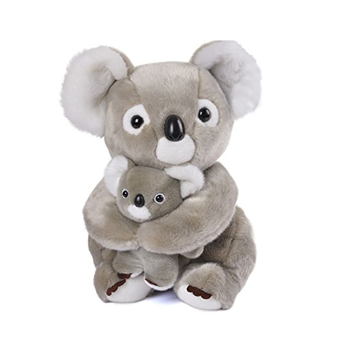 (Lazada Mum Koala Hold Baby Koala Stuffed Animal Plush Toy Dolls Gifts for Kids 11.5