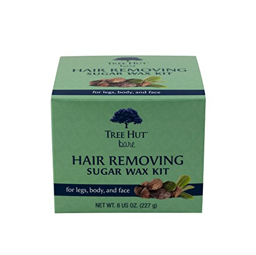 Tree Hut Bare Hair Removing Sugar Wax Kit, 8 Ounce