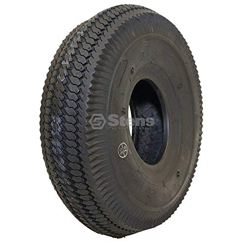 Stens 160-605 Kenda Tire, 4.10'' x 3.50''-4'' Saw Tooth, 2-Ply