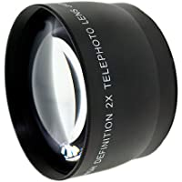 iConcepts 2.0x High Definition Telephoto Conversion Lens for Fujifilm Finepix S6000fd
