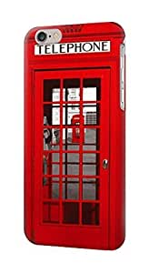 S0058 Classic British Red Telephone Box Case Cover for IPHONE 5C hjbrhga1544