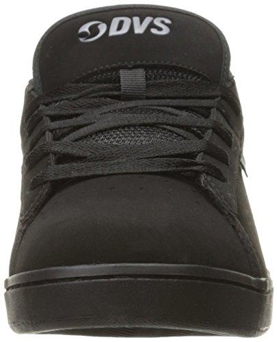Homme Revival de Skateboard DVS Nubuck Black Black 004 Noir Chaussures 2 Shoes x14qWBwp