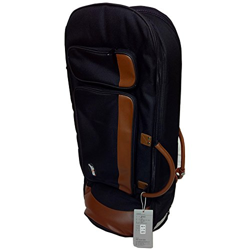 Deluxe Euphoniums Gig Bag Case 25MM Padded Comfortable Leather Handle E-5B by Jinchuan
