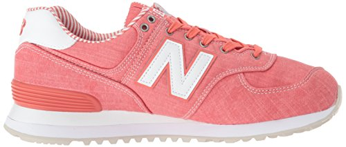 top Coral sneakers dames 574 white Balance low voor New RxAtqnB