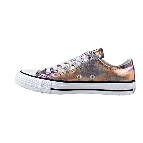 Mens Ox Taylor Pink Dusk Chuck All Star Converse Trainers White Canvas XTqndwwF