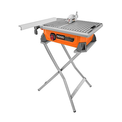 RIDGID 7 in. Tile Saw with -