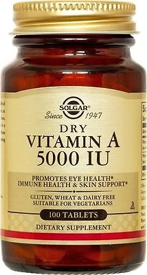 Solgar Vitamin 5000 Tablets Count product image