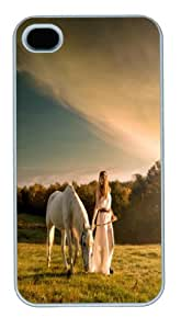 APPLE iPhone 4s Case,DIY PC White Covers,Designer with Pet Picture--529