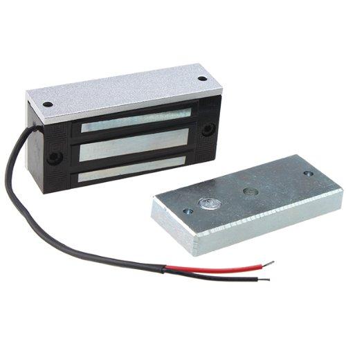AGPtek 60kg 130LBs Holding Force Electric Magnetic Lock for Door Access Control System Electromagnet Fail-Safe NC Mode by AGPTEK (Image #1)