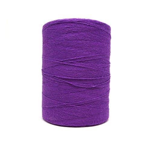 (8/2 Un-Mercerized Brassard Cotton Weaving Yarn ~ Purple)