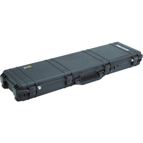 Pelican 1750 Long Rifle Gun Case with Foam 3-PCS FOAM SET Copolymer, Rubber, Polyurethane, Stainless Steel, ABS Plastic - Black