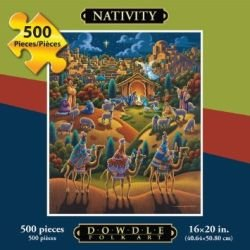 Nativity 1000 Piece Christmas Puzzle