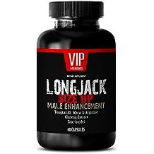 Male enchantment pills increase size - LONGJACK SIZE UP 2170Mg - MALE ENHANCEMENT SUPPLEMENT (With Maca, Tongkat Ali, L-Arginine, Ginseng and Zinc) - 1 Bottle 60 Capsules