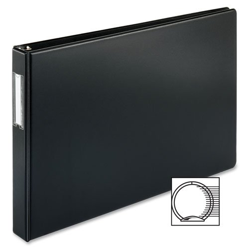 MyOfficeInnovations 3254302 Reference Binder 11''x17'' 1'' Black