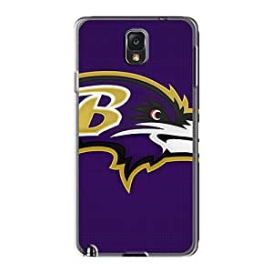 RandileeStewart Samsung Galaxy Note 3 Great Hard Phone Case Custom Stylish Baltimore Ravens Image [EeG16116hgNO]