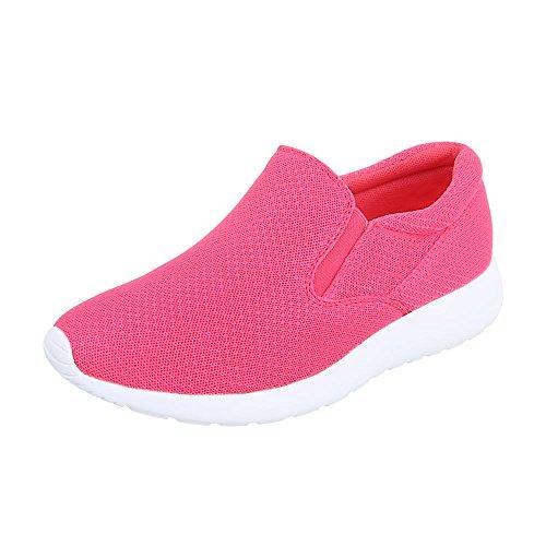 Ital-Design - Tobillo bajo Mujer Rosa