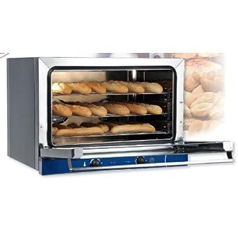 Horno de convección eléctrico baguette panes, pasteles 3 sartenes ...