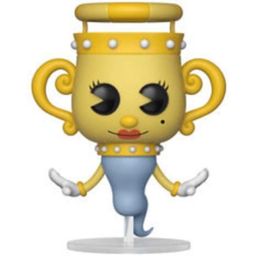 Funko - Figurines Pop Vinyle: Games: Cuphead: Legendary Chalice, 26969