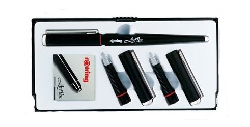 art pen calligraphy set of 3 ROTRING 39250290 Pens & Stationery School