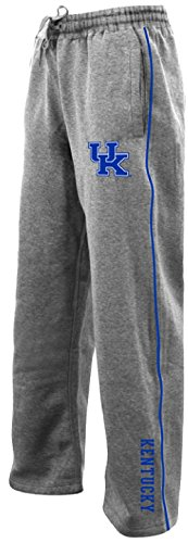 Kentucky Wildcats Grey Velocity Poly Fleece Synthetic Sweatpants (XL=36-37)