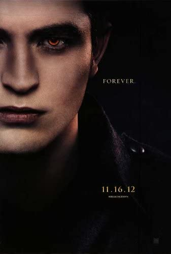 Amazon Com The Twilight Saga Breaking Dawn Part 2 2012 27 X 40 Movie Poster Style B Lithographic Prints Posters Prints