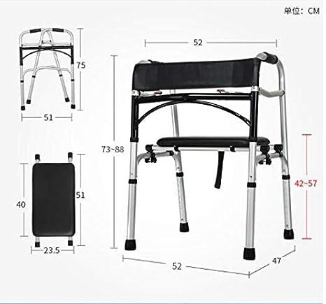 Amazon.com: JOEPET - Andador plegable con ruedas delanteras ...
