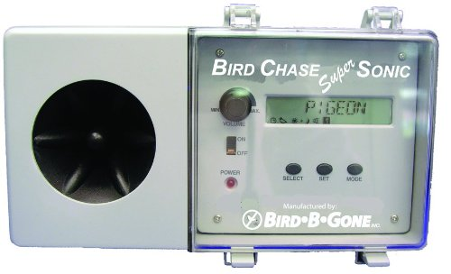 Bird B Gone Bird Chase Super Sonic Bird Deterrent