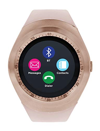 iTOUCH Curve Bluetooth Smart Watch and Fitness Activity Tracker Touch Watch
