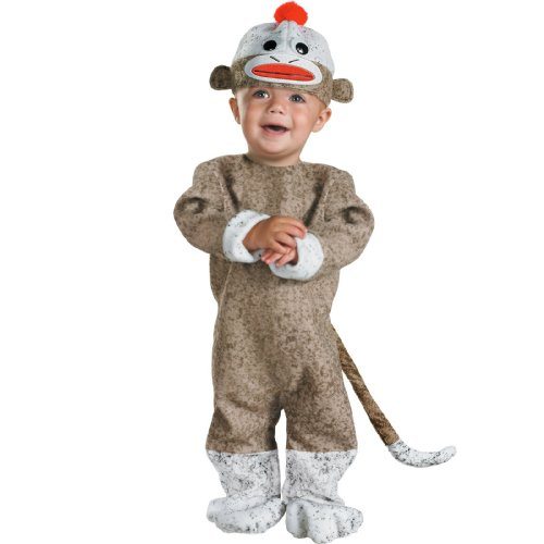 Monkey Sock Costume (Sock Monkey Costume: Toddler's Size 12-18)