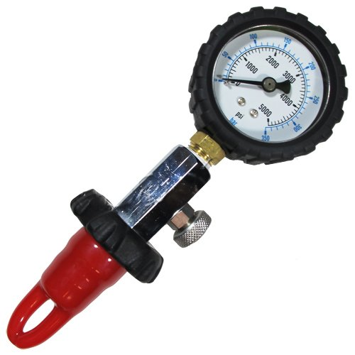 Scuba Choice Scuba Diving DIN Tank Pressure Checker 5000 PSI 350 BAR