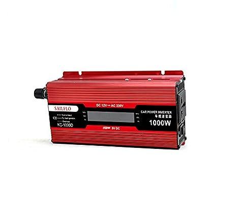 UKC Spannungswandler Auto 12 V DC AC 220 V 2000 W USB Konverter Konverter