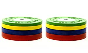90 Kg Vaughn Competition Bumper Plates Olympic Weight Plates Crossfit Training