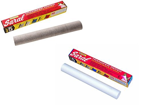 Saral Transfer paper 12 foot rolls in graphite and - Art Paper Wax
