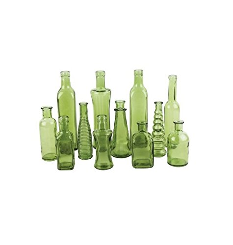 Syndicate Home & Garden 3203-24-426 Vintage Bottle Collection44; Green - 6.75 in. - Case of 24 by SYNDICATE HOME & GARDEN (Image #1)